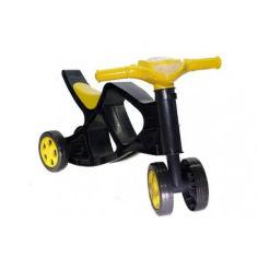 Акция на Детский четырехколесный беговел DOLONI TOYS 0136 Минибайк Желтый от Allo UA