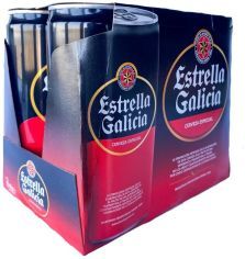 Акция на Пиво светлое Estrella Galicia Espesial ж/б 0,33л (PLK8412598000010) от Stylus