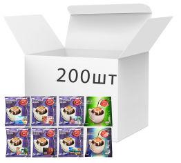 Акция на Набор дрип-кофе Trevi Mix 8 видов x 25 шт (4820140052077) от Rozetka