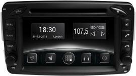 Акция на Автомагнитола штатная Gazer CM5007-W163 для Mercedes A (W168), C (W203), E (W210), CLK(W209) от Rozetka