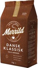Акция на Кофе Lavazza Merrild Dansk Classic жареный в зернах 1000 г (8000070031852) от Rozetka