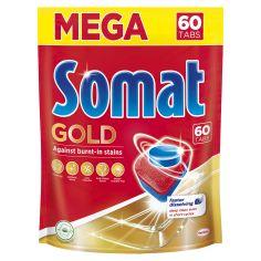 Акция на Таблетки для мытья посуды Somat Gold 60 шт (9000101374278) от Rozetka