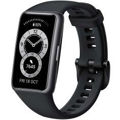 Акция на Смарт-часы HUAWEI Band 6 Graphite Black от Foxtrot