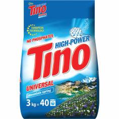Акция на Стиральный порошок TINO Mountain spring Universal 3 кг (4823069705602) от Foxtrot