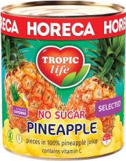 Акция на Ананас кусочками в собственном соку Tropic Life без сахара 3100 мл (5060235659249) от Rozetka