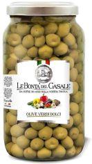 Акция на Оливки Le Bonta' del Casale сладкие сицилийские 3.1 л (8020454006818) от Rozetka