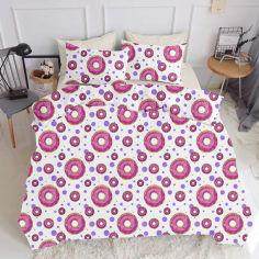 Акция на Комплект постельного белья Cosas Sweet Donut Beige 160х220 (4822052057667) от Rozetka