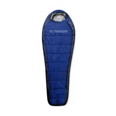Акция на Спальный мешок Trimm HIGHLANDER mid. blue/sea blue (синий) 195 L от Allo UA
