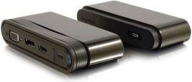 Акция на Док станция C2G USB-C на HDMI, DP, VGA, USB, Power Delivery до 65W (CG82392) от MOYO