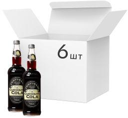 Акция на Упаковка напитка газированного Fentimans Curiosity Cola 0.75 л x 6 шт (5029396738569) от Rozetka