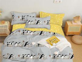 Акция на Комплект постельного белья MirSon Бязь 17-0557 Shafira Двуспальный (2200003928198) от Rozetka
