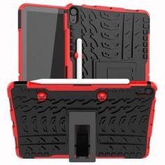 Акция на Бронированный чехол Armored Case для Apple iPad Air (2020) / iPad Air 4 Red от Allo UA