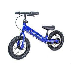 Акция на Велобег Scale Sports с дисковым тормозом, деткам от 2 лет. синий от Allo UA