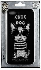 Акция на WK для APPLE iPhone 7/8/SE2020 WPC-087 Cute Dog Black (681920360728) от Repka
