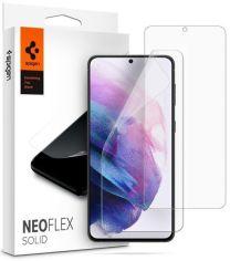 Акция на Защитная плёнка Spigen для Galaxy S21 (G991) NeoFlex Solid HD Clear (AFL02557) от MOYO