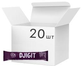Акция на Упаковка орехово-фруктовых батончиков Djigit С изюмом 33 г х 20 шт (14820230800019) от Rozetka