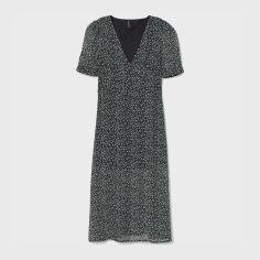 Акция на Платье H&M 1506-8291471 34 Черное (hm02561345459) от Rozetka