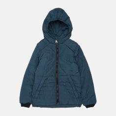 Акция на Демисезонная куртка Одягайко 22485 146 см Синий + зеленый (ROZ6400141967) от Rozetka