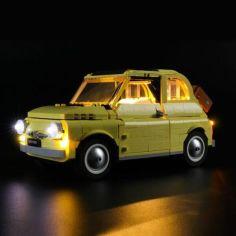Акция на Lightailing Подсветка для набора LEGO Creator Fiat 500 (10271) (LGK329) от Allo UA