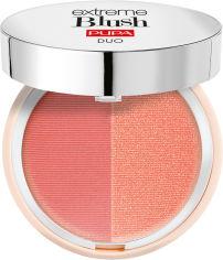 Акция на Компактные румяна с двойным эффектом Pupa Extreme Blush Duo 130 Matt Salmon Radiant Peach 4 г (8011607332519) от Rozetka