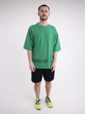 Акция на Спортивный костюм Olis-Style Один 5079 50 Зеленый с черным (ROZ6400141063) от Rozetka