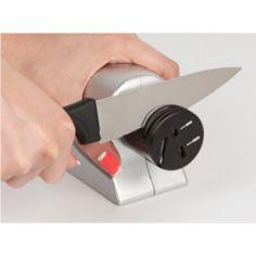 Акция на Электрическая ножеточка от 220в Острые граниLeomaxТочилка для ножей от сети №K12-4 от Allo UA
