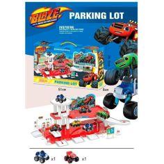 Акция на Игровой Набор Парковка На Две Машинки (Дорожные Знаки) | Гараж Для Машинок от Allo UA