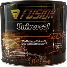 Акция на Моторное масло Fusion Universal 15W-40 10 л metal (FU1037/10) от Rozetka