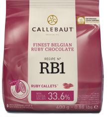 Акция на Шоколад Callebaut Ruby бельгийский 400 г (5410522645859) от Rozetka