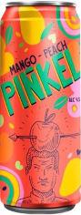 Акция на Упаковка напитка сброженного газированного Pinkel Яблоко-персик-манго 5% 0.5 л х 20 шт (4820120801709) от Rozetka