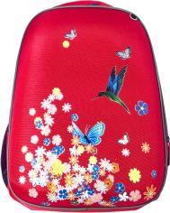 Акция на Рюкзак VGR 798 г 36x26.5x19 см 18.1 л Цветы и птица Розовый (Я46267_VR24271_рожевий) от Rozetka