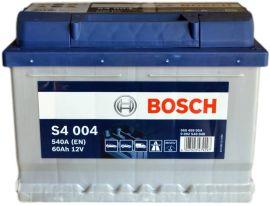 Акция на Автомобильный аккумулятор Bosch 60Аh Ев (-/+) S4004 (540EN) (0 092 S40 040) от Rozetka
