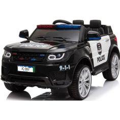 Акция на Электромобиль джип Car4Kids Police Car JC002 с EVA колесами на радиоуправлении Bluetooth и с МР3 + 2 мотора по 30 Вт Черный от Allo UA