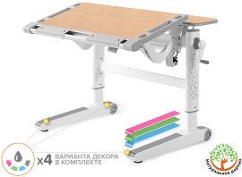 Акция на Детский стол Mealux Ergowood L Multicolor Mg (арт. BD-810 MG/MC) от Stylus