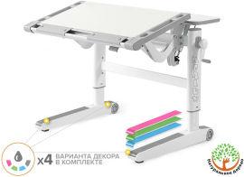 Акция на Детский стол Mealux Ergowood L Multicolor W (арт. BD-810 W/MC) от Stylus