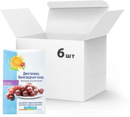 Акция на Упаковка сахара виноградного Remedia Декстромед 500 г х 6 шт (27290000021540) от Rozetka