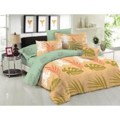 Акция на Комплект постельного белья Селена 180х220 (00000972) от Allo UA