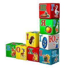 Акция на Развивающая игрушка Технок Набор кубиков Веселая Азбука 1806 ТМ: Технок от Antoshka