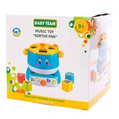 Акция на Музыкальная игрушка-сортер Baby Team Кастрюля 8637 ТМ: BABY TEAM от Antoshka