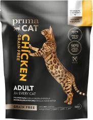 Акция на Сухой беззерновой корм для котов Prima Cat Grain Free Chicken For All Adult Cat с курицей 4 кг (6430076890979) от Rozetka