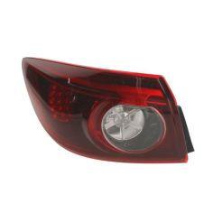 Акция на Фонарь задний Mazda 3 Sd 2013- левый внешний LED Задние фонари фары автомобильные от Allo UA