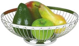 Акция на Корзинка APS для хлеба и фруктов овальная 20x15 см (30210) от Rozetka