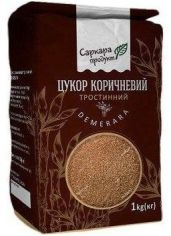 Акция на Тростниковый сахар Саркара продукт Demerara, (1 кг) (WT3553) от Stylus