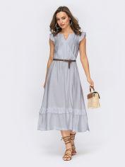 Акция на Платье Dressa 54124 50 Серое (2000405756739_D) от Rozetka