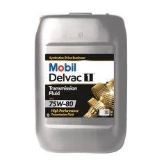 Акция на Трансмиссионное масло Mobil Delvac 1 Transmission Fluid 75W-80 20 л от Allo UA