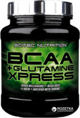 Акция на Аминокислота Scitec Nutrition BCAA + Glutamine Xpress 600 г Apple (5999100000032) от Rozetka