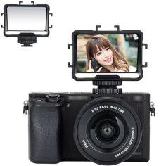 Акция на Зеркало - монитор, экран JJC FSM-V1 для фото селфи съемки, ведения блогов для фото-камер от Allo UA