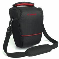 Акция на Сумка для фотоаппарата Canon EOS, противоударный чехол Кэнон Черный /красный ( код: IBF061BR ) от Allo UA