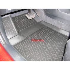 Акция на К/с Honda Civic коврики салона в салон на HONDA Хонда Civic hb (06-) полиур. от Allo UA