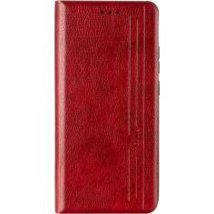 Акция на Кожаный чехол-книжка Gelius Book Cover Leather для Samsung Galaxy A02s (A025)  Red от Allo UA